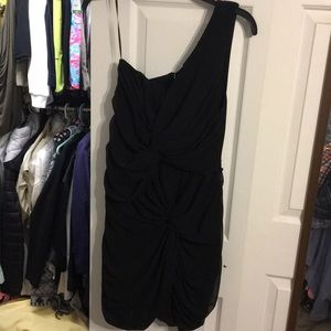 Brand New Little Black Dress with ruching
